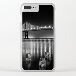 Bay Bridge View Point Clear iPhone Case