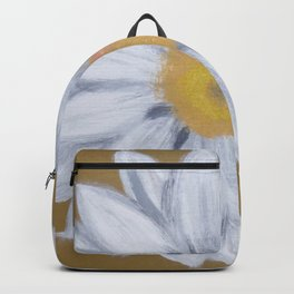 Daisy on Bronze Backpack