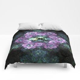Electric Snowflake Flower Comforters