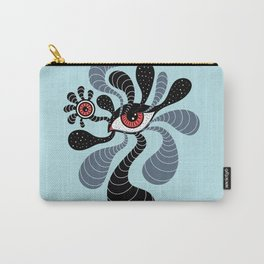 Abstract Surreal Double Red Eye Carry-All Pouch