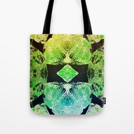 Green Mandala-Heart Chakra Tote Bag