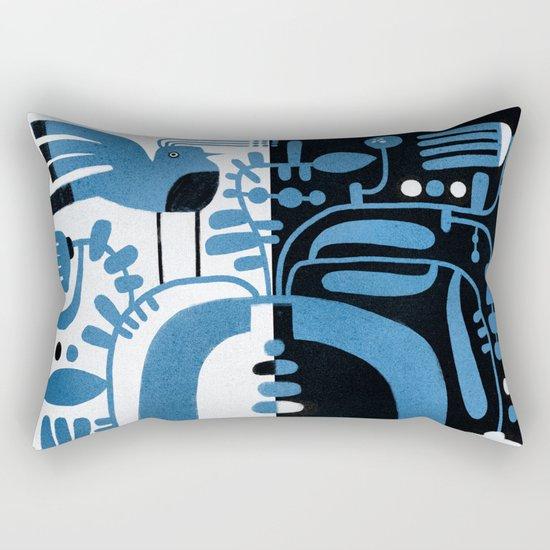 STUDY IN CONTRAST Rectangular Pillow
