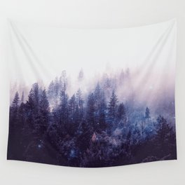 Misty Space Wall Tapestry
