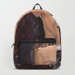 Amedeo Modigliani - Portrait of Blaise Cendrars.jpg Backpack