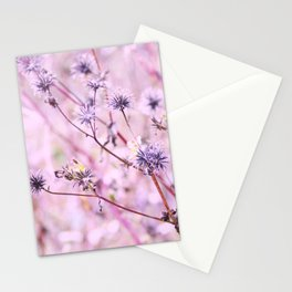 Purple Fusion Stationery Cards