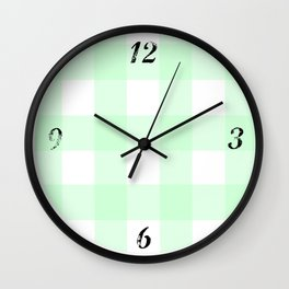 Hooray for Today - by Diane Duda Wall Clock