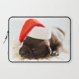 Christmas dog Laptop Sleeve