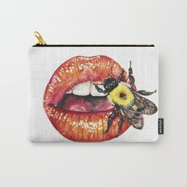 Lips + Bombus Carry-All Pouch