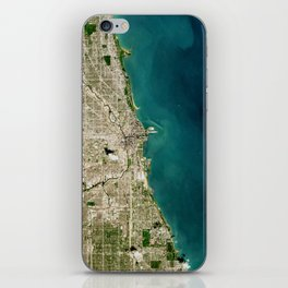 Chicago From Space iPhone Skin