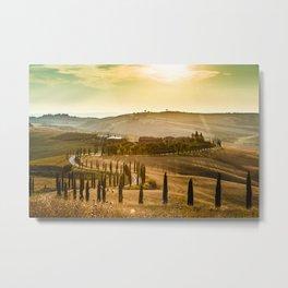 Farm in Tuscany Metal Print