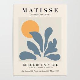 Exhibition poster Henri Matisse 1953. Poster