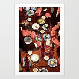 Yubitsume / Yakuza Art Print