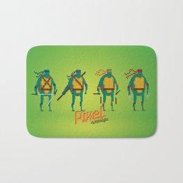 Ninja Turtles - Pixel Nostalgia Bath Mat