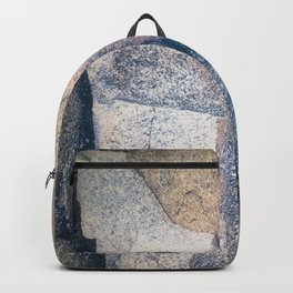 Secret Woman Emerging, Beach Stone Backpack