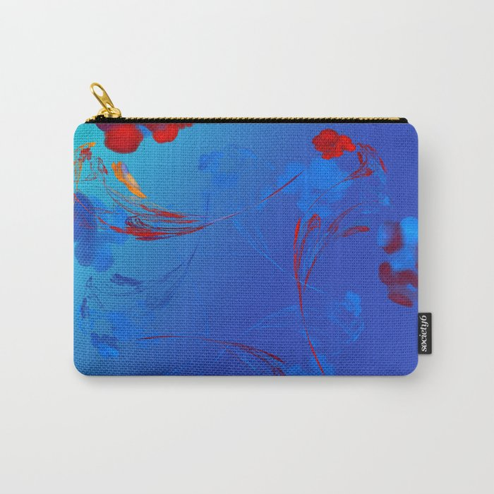 Flower in the Mind Carry-All Pouch
