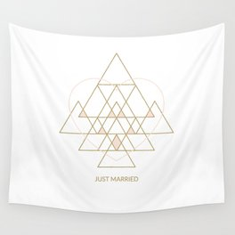 Just Married Wall Tapestry