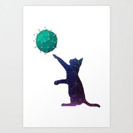Universal kitty Art Print