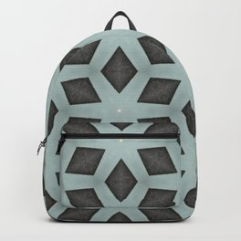 Mint Green, Cream & Chocolate Brown No. 2 Backpack