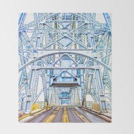 Lift Bridge Throw Blanket