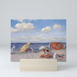 At the Seaside, William Merritt Chase 1892 Mini Art Print