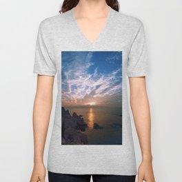 Ocean View Unisex V-Neck