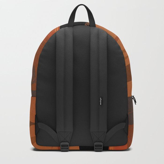 Retro Sunset Backpack