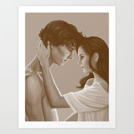 Sherlolly - Dawn Art Print