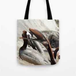 Yawn Yoga Tote Bag