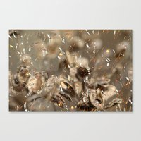 confetti Canvas Prints featuring Confetti by Irène Sneddon