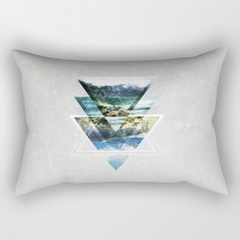 Mirror lake Rectangular Pillow