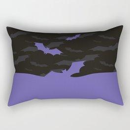 Flying Bats Rectangular Pillow