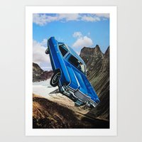 car Art Prints featuring Car by John Turck