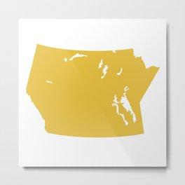 Prairie Modern Metal Print