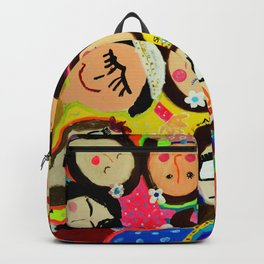 Painting Wednesday Art Class- Part 1 Backpack