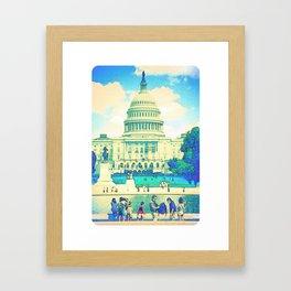 """""""East Front"""" Framed Art Print"""