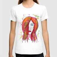 valentina T-shirts featuring Valentina by Laurie Art Gallery