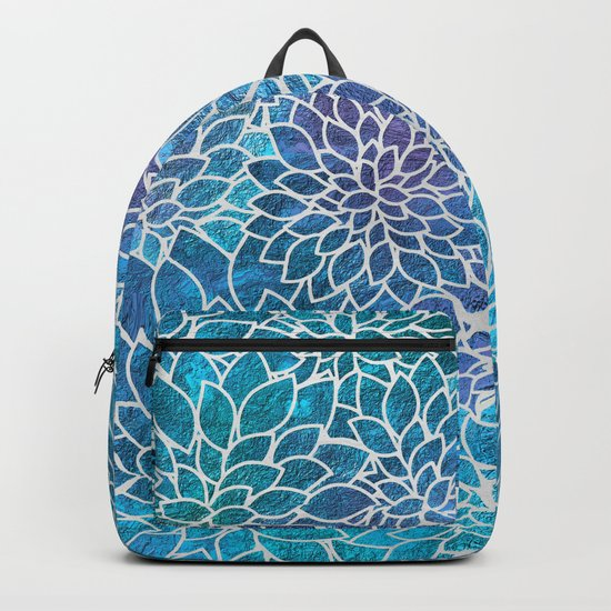 Floral Abstract 10 Backpack