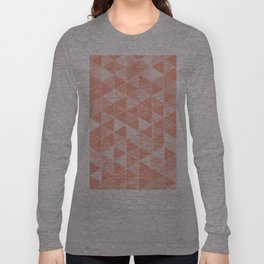 Coral Triangles Long Sleeve T-shirt