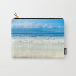 Beach Blue Kapalua Golden Sand Maui Hawaii Carry-All Pouch