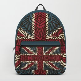 Union Jack - Vintage Tribal Backpack