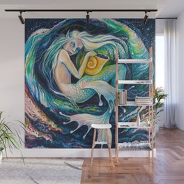 Sweet Dreams (Little Mermaid) Wall Mural