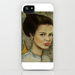 The Opera Singer iPhone Case