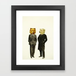 The Likely Lads Framed Art Print
