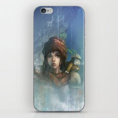 girl in the abyss  iPhone & iPod Skin