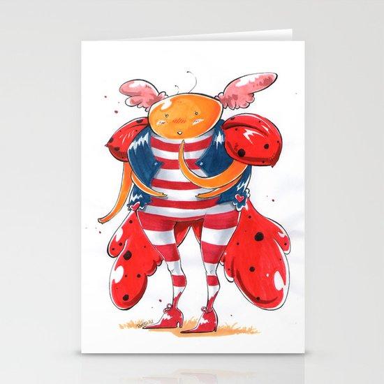 Little LadyBug Stationery Cards