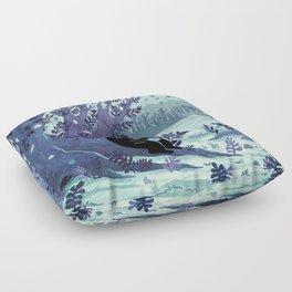 A Quiet Spot of Tea Floor Pillow