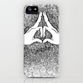 Yoga Mudra 02 iPhone Case