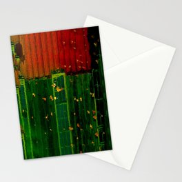 Secrets Under Fall Leaves Stationery Cards