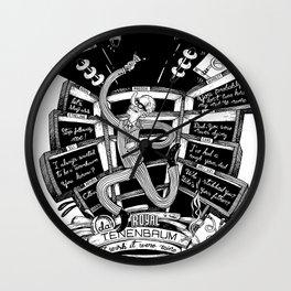I wish it were mine (Tenenbaums) Wall Clock