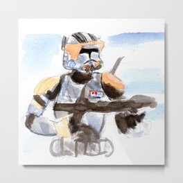 Commander Cody Metal Print